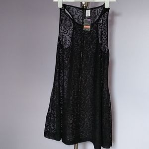 west loop Dresses - Black XL Lace Dress
